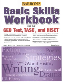 Basic Skills Workbook for the GED Test, TASC, and HiSET (Paperback)
