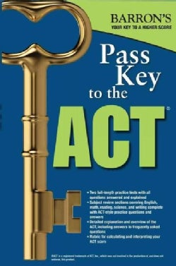 Barron's Pass Key to the ACT (Paperback)