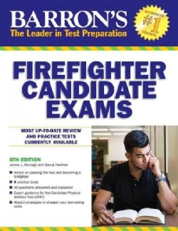 Barron's Firefighter Candidate Exams (Paperback)