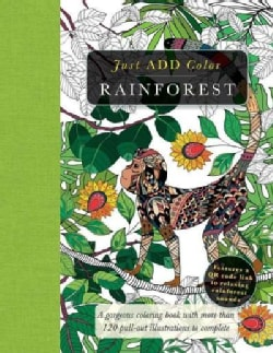 Rainforest: Gorgeous Coloring Books With More Than 120 Pull-out Illustrations to Complete (Paperback)