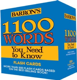 Barron's 1100 Words You Need to Know (Cards)