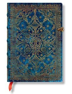 Azure Mini Lined Journal (Notebook / blank book)