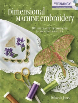 Dimensional Machine Embroidery (Paperback)