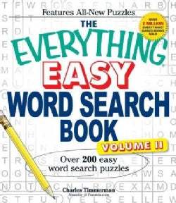 The Everything Easy Word Search Book: Over 200 Easy Word Search Puzzles (Paperback)