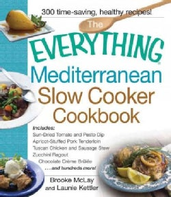 The Everything Mediterranean Slow Cooker Cookbook (Paperback)