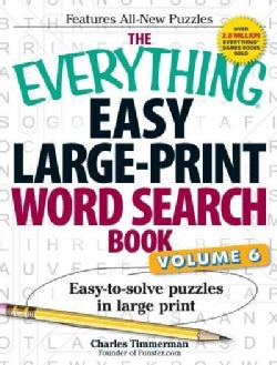 The Everything Easy Word Search Book (Paperback)