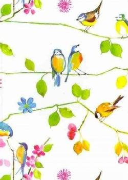 Watercolor Birds Journal (Notebook / blank book)