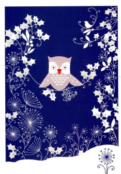 Silver Owl: Holiday Cards (Cards)
