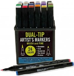 Studio Series Dual-tip Alcohol Markers: Set of 24 (General merchandise)