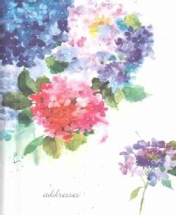 Hydrangeas Large Address Book (Address book)
