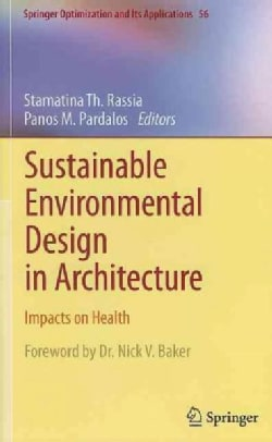 Sustainable Environmental Design in Architecture: Impacts on Health (Hardcover)