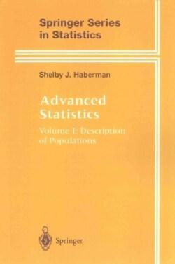 Advanced Statistics: Description of Populations (Paperback)