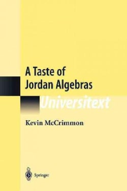 A Taste of Jordan Algebras (Paperback)