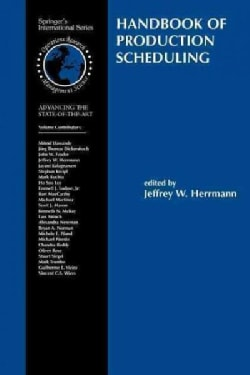 Handbook of Production Scheduling (Paperback)