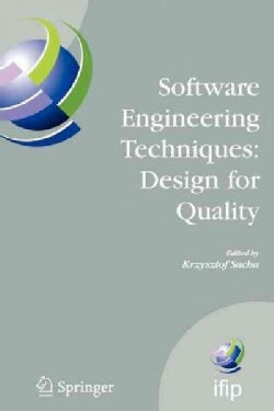 Software Engineering Techniques: Design for Quality (Paperback)