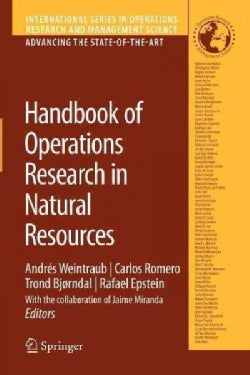 Handbook of Operations Research in Natural Resources (Paperback)