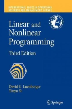Linear and Nonlinear Programming (Paperback)