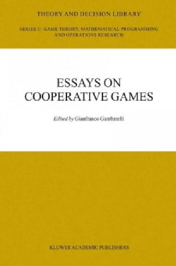 Essays on Cooperative Games: In Honor of Guillermo Owen (Paperback)