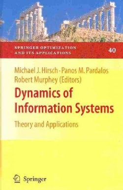 Dynamics of Information Systems: Theory and Applications (Hardcover)