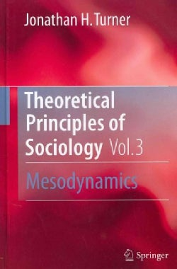 Theoretical Principles of Sociology: Mesodynamics (Hardcover)