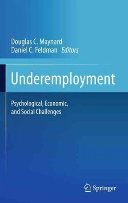 Underemployment: Psychological, Economic, and Social Challenges (Hardcover)