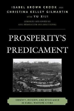 Prosperity's Predicament: Identity, Reform, and Resistance in Rural Wartime China (Paperback)