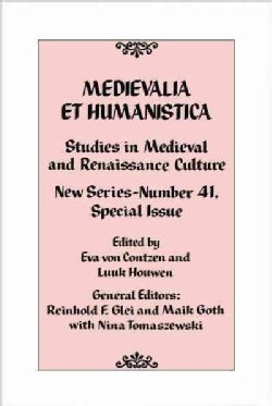 Studies in Medieval and Renaissance Culture (Hardcover)