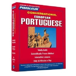 Pimsleur Portuguese, European Conversational Course - Level 1 Lessons 1-16: Learn to Speak and Understand European... (CD-Audio)
