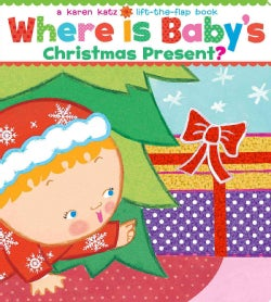 Where Is Baby's Christmas Present?: Oversize Edition (Board book)