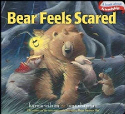 Bear Feels Scared (Board book)