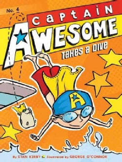 Captain Awesome Takes a Dive (Paperback)