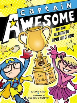 Captain Awesome and the Ultimate Spelling Bee (Paperback)