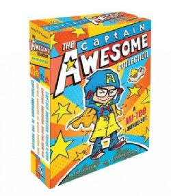 The Captain Awesome Collection: A Mi-Tee Boxed Set: Captain Awesome to the Rescue! / Captain Awesome Vs. Nacho Ch... (Paperback)