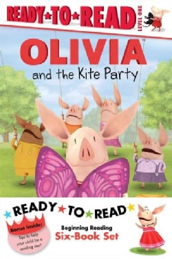 Olivia Ready-to-Read Value Pack 2: Olivia and the Kite Party / Olivia and the Rain Dance / Olivia Becomes a Vet /... (Paperback)