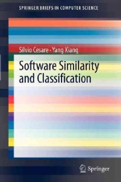 Software Similarity and Classification (Paperback)