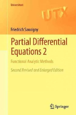 Partial Differential Equations 2: Functional Analytic Methods (Paperback)