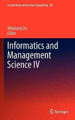 Informatics and Management Science IV (Hardcover)