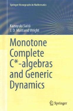 Monotone Complete Algebras of Operators (Hardcover)