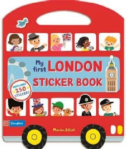 My First London Sticker Book (Paperback)