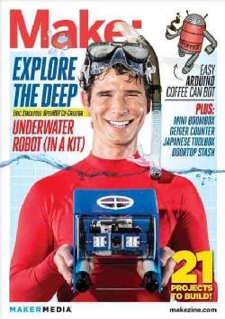 Make: 34: Underwater Robot (In A Kit) (Paperback)