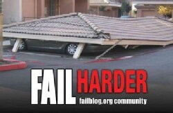 Fail Harder: Ridiculous Illustrations of Epic Fails (Hardcover)