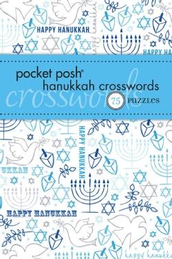 Pocket Posh Hanukkah Crosswords: 75 Puzzles (Paperback)