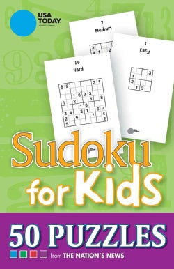 USA Today Sudoku for Kids: 50 Puzzles from the Nation's News (Paperback)