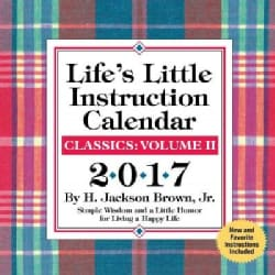 Life's Little Instruction 2017 Calendar (Calendar)