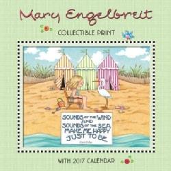 Mary Engelbreit's 40th Anniversary Collectible Print With 2017 Calendar (Calendar)