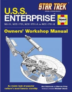 Star Trek U.s.s. Enterprise: Owner's Workshop Manual (Hardcover)