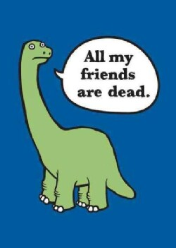 All My Friends Are Dead Felt Journal (Notebook / blank book)