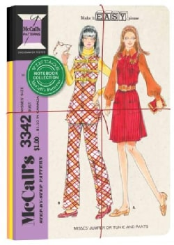 Vintage Mccall's Patterns Notebook Collection (Notebook / blank book)