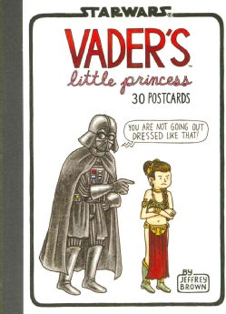 Vader's Little Princess 30 Postcards (Postcard book or pack)