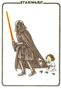 Vader's Little Princess Flexi Journal (Notebook / blank book)